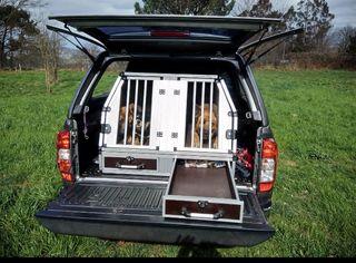 jaula aluminio reforzado perros