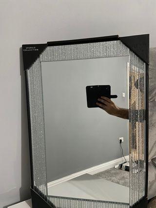 Glitter mirrors