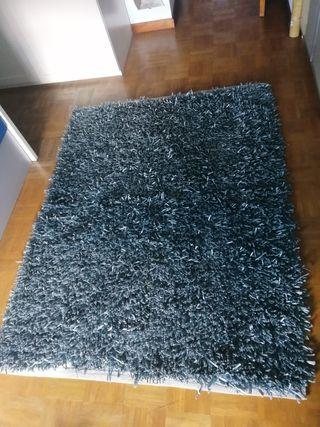 alfombra azul
