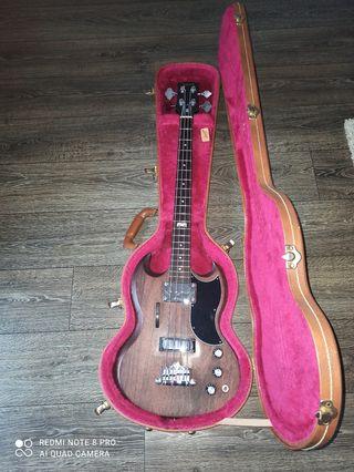 Bajo Gibson SG 120 aniversario