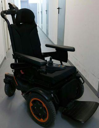 Silla de ruedas eléctrica. Modelo Q4.