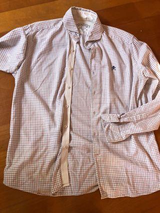 Camisa Scalpers 100% algodon talla 43