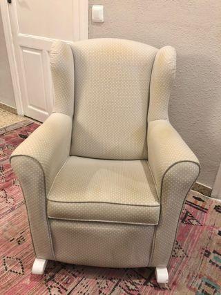 Mecedora sillón balancín infantil
