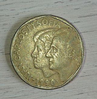 Moneda de 500 pesetas 1990