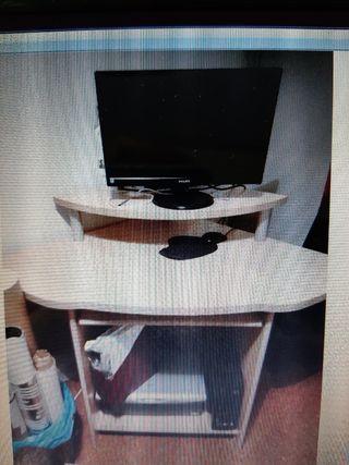 escritorio en esquinera