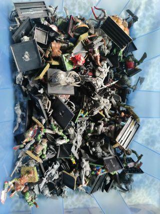 Warhammer plomo plástico de todo