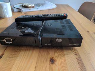 Decodificador Iris 9900 HD.