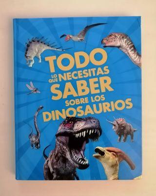 Libro sobre dinosaurios