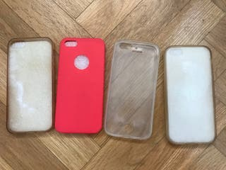 Lote 4 fundas iphone