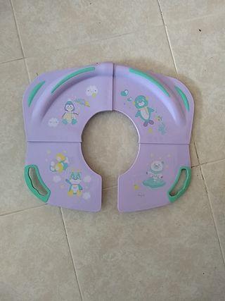 adaptador WC portátil