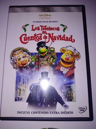 """DVD """"Los teleñecos en cuento de Navidad"""""""