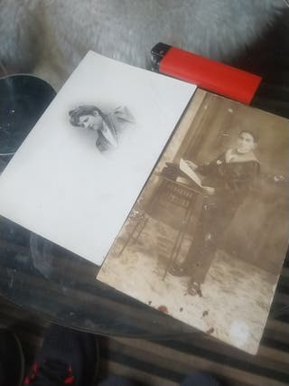Lote 2 postales antiguas