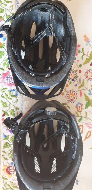 cascos de bicicleta