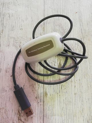 adaptador inalámbrico. para mando xbox 360