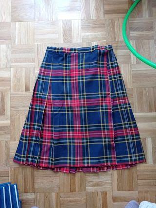 Falda uniforme talla 14