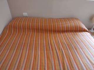 Colcha o manta sofá