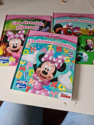 3 libros Minnie Mouse