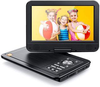 Reproductor de DVD Portátil para el Coche 10.5
