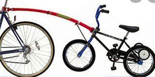 trail gator - Remolque bici niños