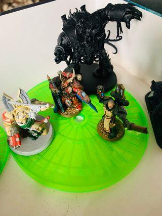 Señor de los anillos y warhammer 40000