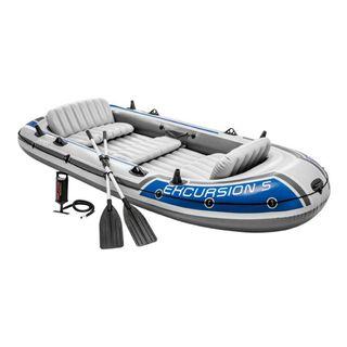 Barca hinchable Intex Excursion 5 con 2 remos 366x