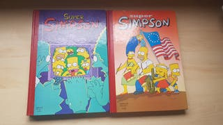 2 Tebeos Super Simpsons