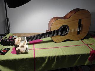 Guitarra clasica Romero Granito 32 4/4 o 1/2 nueva