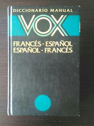 Diccionario manual Vox. Francés- Español...