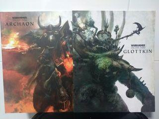 Archaon y Glottking Warhammer