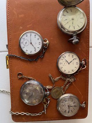 Relojes de bolsillo vintage/antiguos