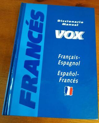 Diccionario manual Vox français-espagñol, español-