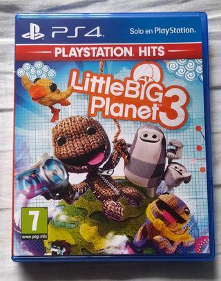 LITTLE BIG PLANET 3 PS4 CAMBIO O VENTA