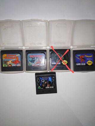Juegos Game gear