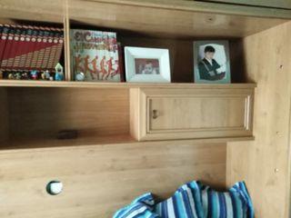 mueble con cama abatible