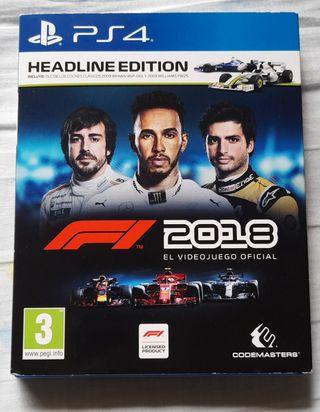 F1 2018 PS4 CAMBIO O VENTA