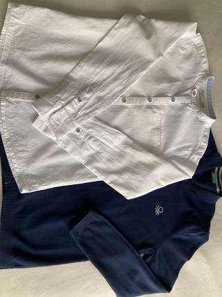 Lote camisa + chaqueta Benetton 9-10 años