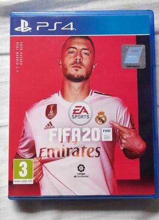 FIFA 20 PS4 CAMBIO O VENTA