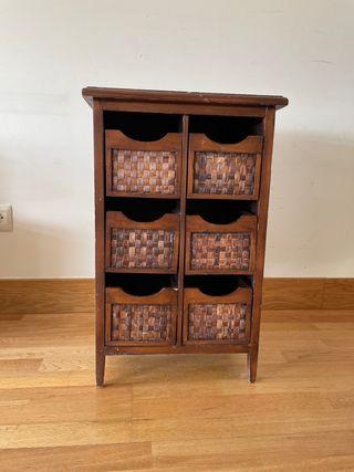 PÓRTICO Mueble de almacenaje . Mesilla