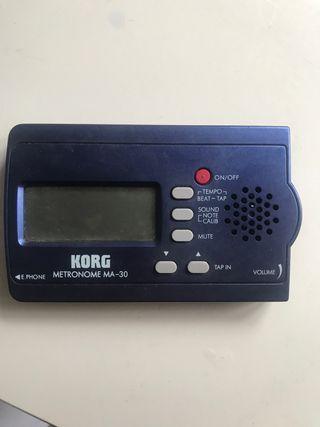 Metrónomo digital MA-30 KORG