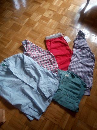 camisas niño variadas de manga larga de 11,12 años