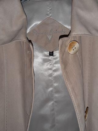abrigo ante gabardina señora