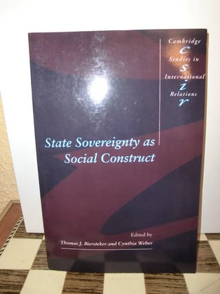 State sovereignty as social construct Biersteker