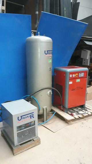 Compresor de tornillo Uniair