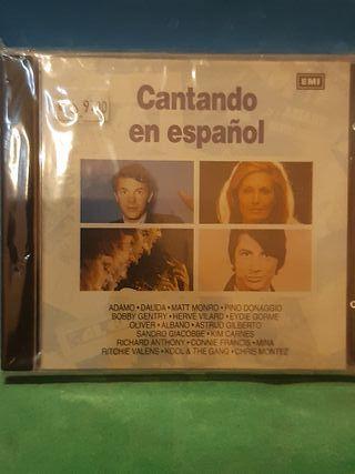 CD recopilatorio Cantando En Español