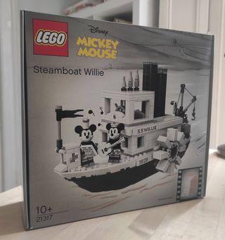 Barco Lego Mickey y Minnie Mouse NUEVO, sin abrir.