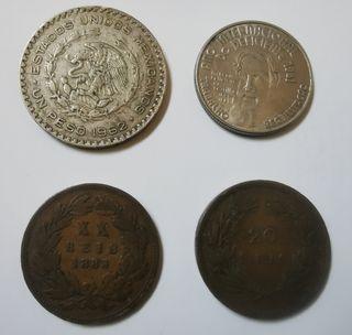 4 monedas antiguas