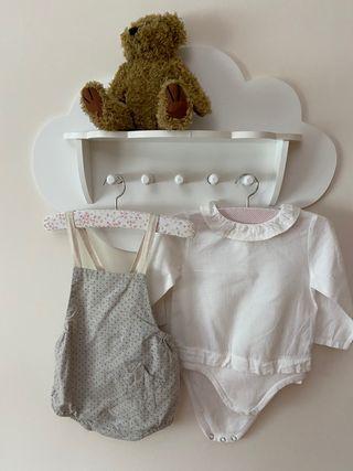 Conjunto peto y camisa body Zara