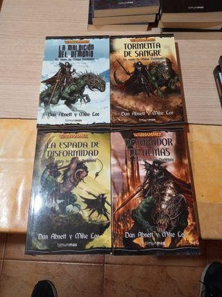 novelas warhammer malus darkblade