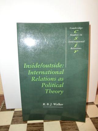 Walker Inside/Outside: International Relations