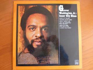 """Disco de vinilo """"Grover Washington, Jr."""""""